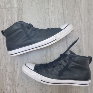 2/$50 Converse Chuck Taylors Leather High Tops 9.5